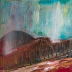 Montefeltro. Oil on canvas; cm. 40×50; 2012. Copyright © Flavio Cesarini