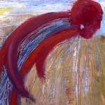 Water. Oil on canvas; cm.60x50; 2010. Copyright © Flavio Cesarini
